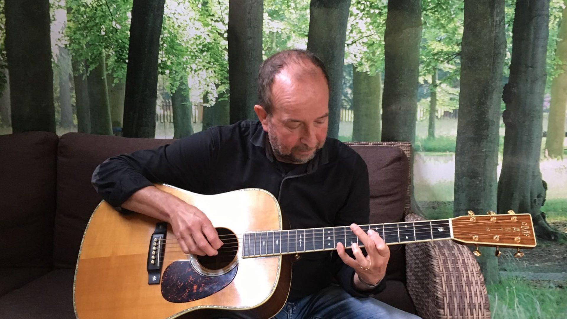 Troubadour Henk Kuyper